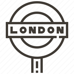 country, europe, london, sign icon