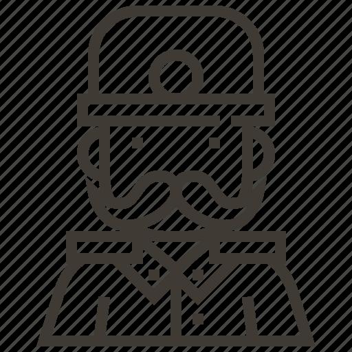 avatar, bobby, man, police, police officer icon