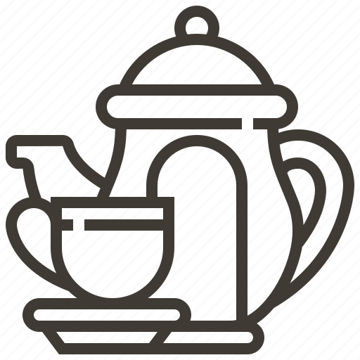 Beverage, drink, tea, tea cup, tea pot icon - Download on Iconfinder