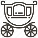 carriage, transport, transportation, vehicle icon