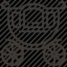 carriage, transport, transportation, vehicle icon