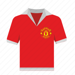 england, football, manchester, polo, red, sport, wear icon