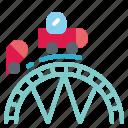 bigwheel, childhood, fair, ferriswheel, rollercoaster