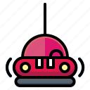 ation, bumper, car, fair, racingtransport icon