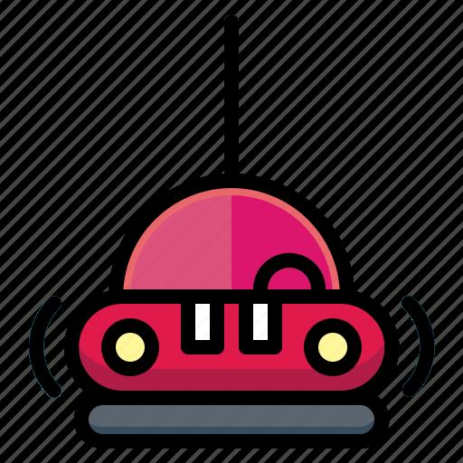 ation, bumper, car, fair, racingtransport icon