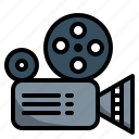 camera, cinema, entertainment, film, movie, video icon