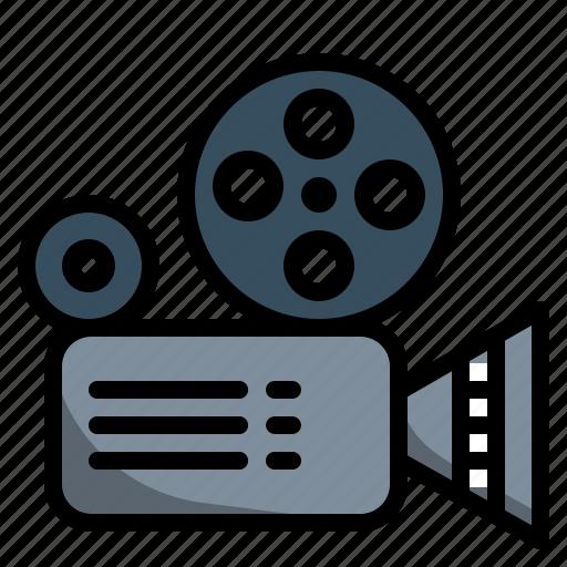 Camera, cinema, entertainment, film, movie, video icon - Download on Iconfinder