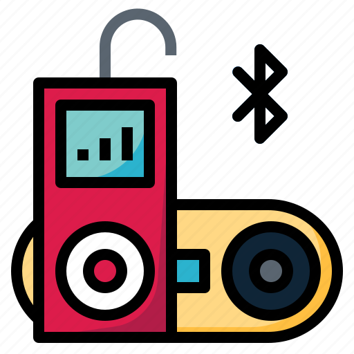 audio, bluetooth, device, gadget, multimedia icon