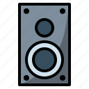 audio, musical, musicplayer, soundbox, speakers icon