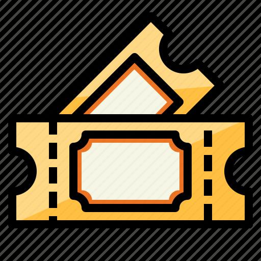 pass, show, ticket, tickets, voucher icon