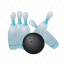 bowling, sport, equipment, game, ball, bowl