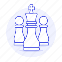 chess, player, pawn, entertainment, white, game, king, board, piece, tactic, strategy