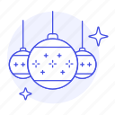 balls, christmas, decoration, entertainment, holidays, ornament, shine icon