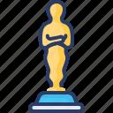 award, cinema, hollywood, memorial, oscar, statue, trophy