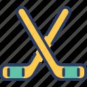 field, game, hockey, outdoor, player, sport, stick