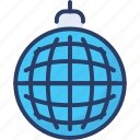 ball, celebration, decoration, disco, discotheque, glass, party