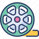 album, film, movie, negative, recording, reel, tape