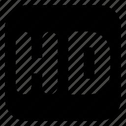hd, square icon