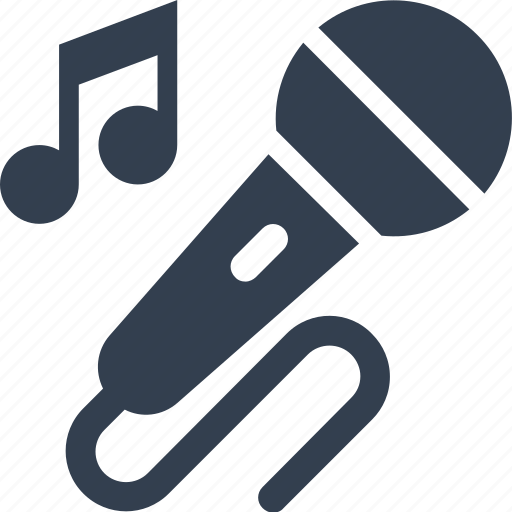 entertainment, karaoke, media, microhpone, multimedia, musical, note, podcast, sing, song, speak, talk icon