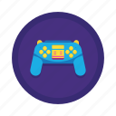 controller, game, game controller, play icon