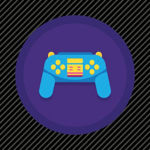 controller, game, game controller, play icon