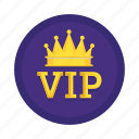 crown, king, premium, vip icon