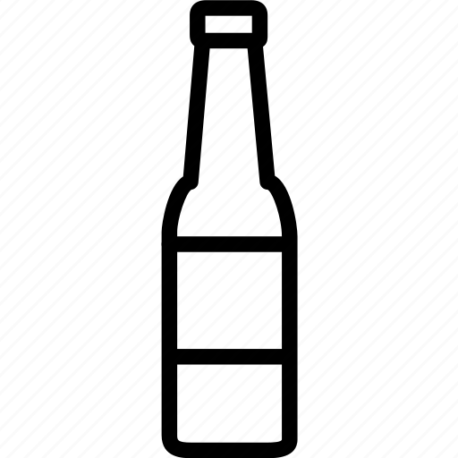 beer, bottle, glass icon