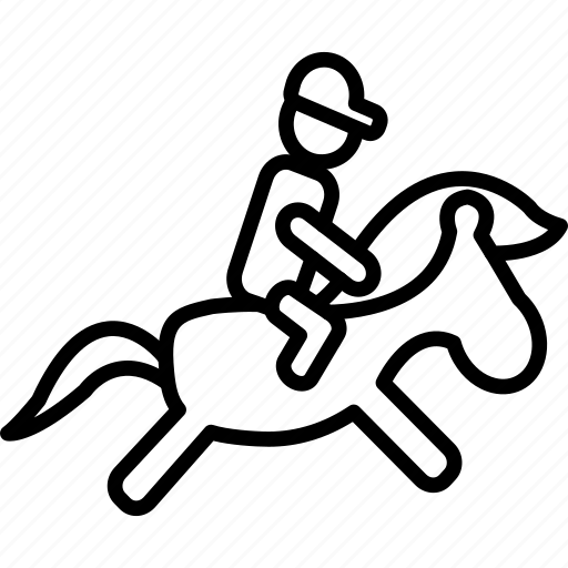 game, horse, ride, riding, sport icon