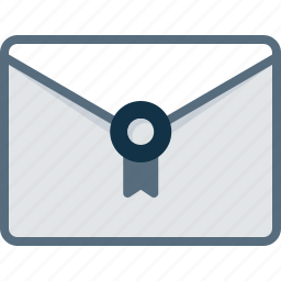 email, envelope, invitation, mail, stamp icon