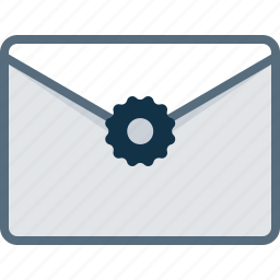 email, envelope, letter, post, stamp icon