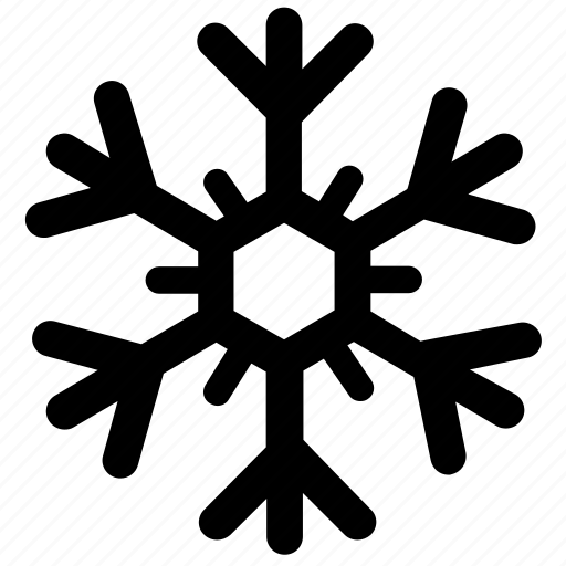 cold, crystal, snow, snowflake, winter icon