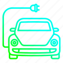 auto, battery, car, charge, charging, eco, friendly icon