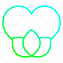 dating, ecologyplant, favorite, green, heart, love icon