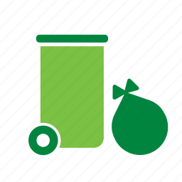 container, environment, environmental, garbage, green, recycle, recycling icon