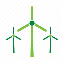 energy, environment, environmental, farm, green, wind, windmill icon
