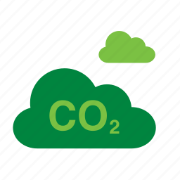 cloud, co2, environment, environmental, green, recycle, recycling icon