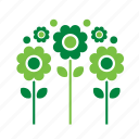 environment, environmental, flowers, green, nature, recycle, recycling icon