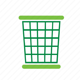 bin, environment, environmental, green, paper, recycle, recycling icon