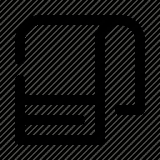 Break, rest, sport, towel icon - Download on Iconfinder