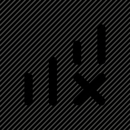 Error, inland, no, signal, tel icon - Download on Iconfinder