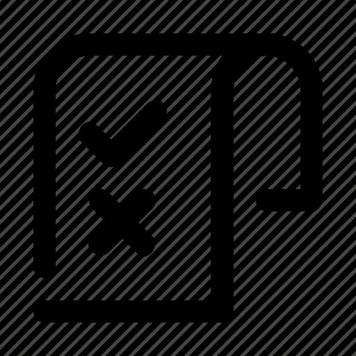 Document, homework, report, task icon - Download on Iconfinder