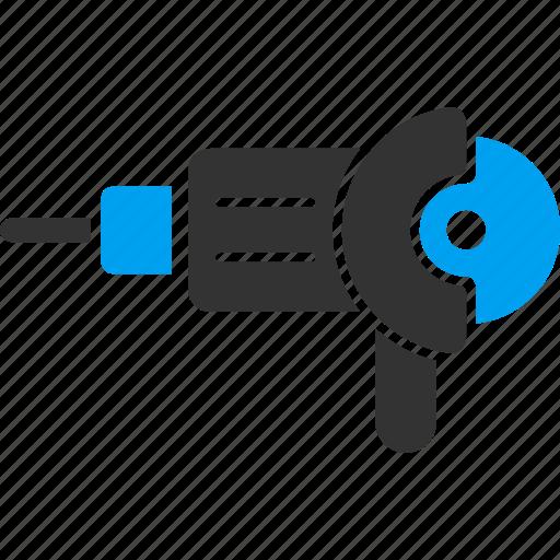 angle grinder, circular saw, craft, cutter, cutting, machine, polish icon