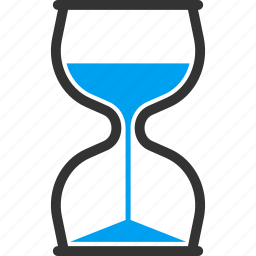 hourglass, sandglass, schedule, timer, wait, waiting, watch icon