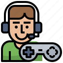 esport, gamer, gaming, joystick, people