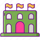 arena, game, p2p icon