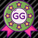 game, gg, good icon