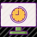 lag, game, slow icon