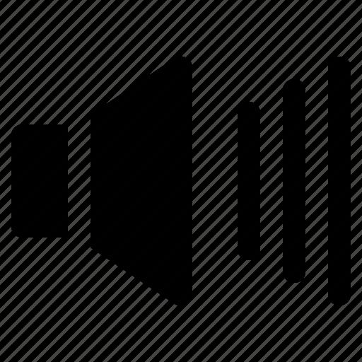 essential, interface, sound, speaker, ui, user, volume icon