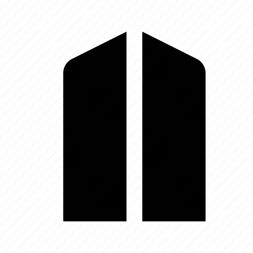 address, apartment, building, company icon