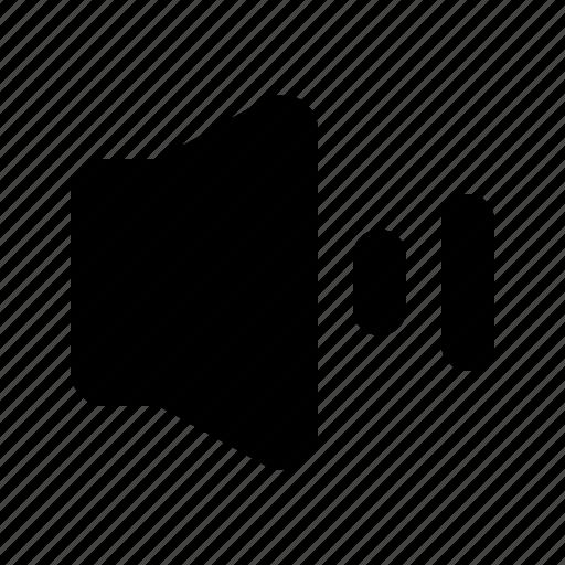 ausio, sound, speaker, volume icon